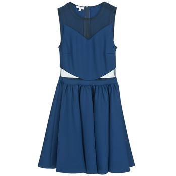 Oblečenie Ženy Krátke šaty Brigitte Bardot BB45080 Modrá