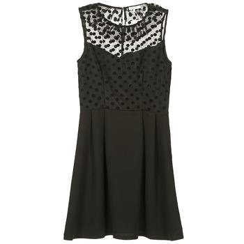 Oblečenie Ženy Krátke šaty Brigitte Bardot BB45057 Čierna