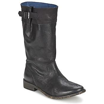 Topánky Ženy Čižmy do mesta Schmoove SANDINISTA BOOTS Čierna / Metalická