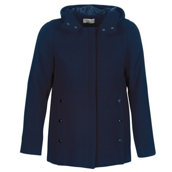 Oblečenie Ženy Kabáty Moony Mood FANIO Námornícka modrá