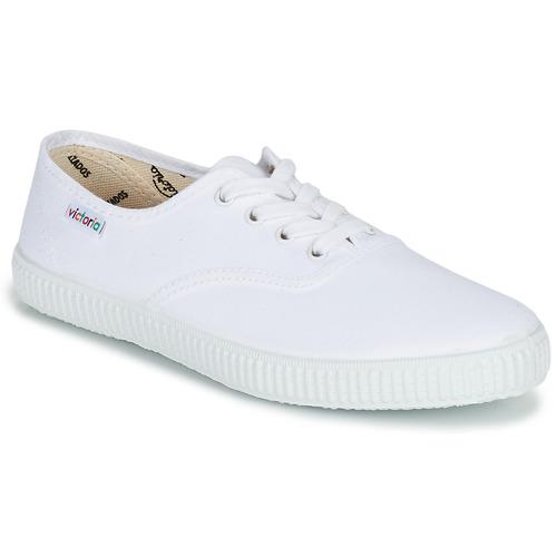 Topánky Nízke tenisky Victoria INGLESA LONA Biela