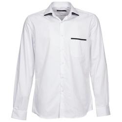 Oblečenie Muži Košele s dlhým rukávom Pierre Cardin ANTOINE Biela