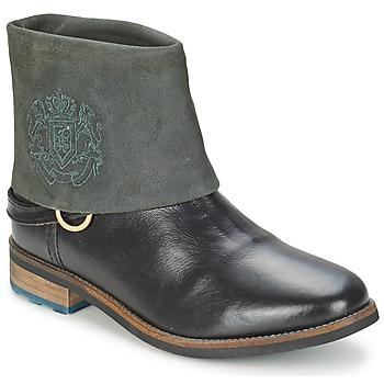 Topánky Ženy Polokozačky Gaastra BONEFISH čierna