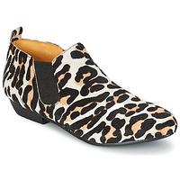 Topánky Ženy Polokozačky Buffalo SASSY Leopard