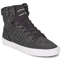 Topánky Ženy Členkové tenisky Supra SKYTOP čierna / Biela