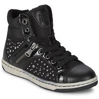 Topánky Dievčatá Členkové tenisky Geox CREAMY C Čierna