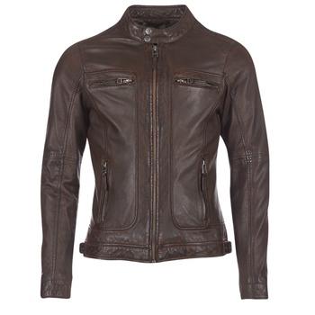 Oblečenie Muži Kožené bundy a syntetické bundy Oakwood CASEY Hnedá