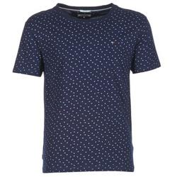 Oblečenie Muži Tričká s krátkym rukávom Tommy Jeans GRONTON Námornícka modrá