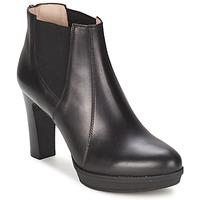Topánky Ženy Čižmičky Unisa MIJAL čierna