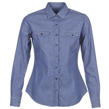 Oblečenie Ženy Košele a blúzky Yurban FERVINE Modrá