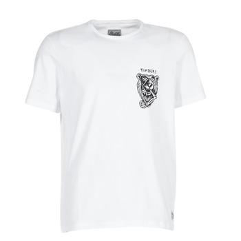Oblečenie Muži Tričká s krátkym rukávom Element ATTACK SS Biela