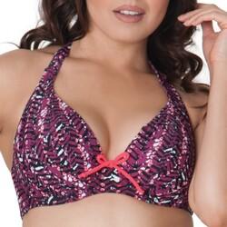 Oblečenie Ženy Plavky kombinovateľné Curvy Kate CS2921 CHERRY BERRY Fialová