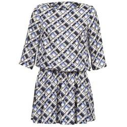 Oblečenie Ženy Krátke šaty Manoush MOSAIQUE šedá / čierna / Parma