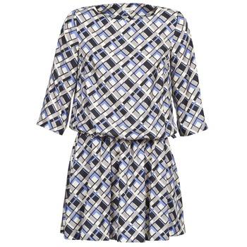 Oblečenie Ženy Krátke šaty Manoush MOSAIQUE Šedá / Čierna / Fialová