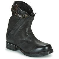 Topánky Ženy Polokozačky Airstep / A.S.98 SAINT METAL ZIP Čierna