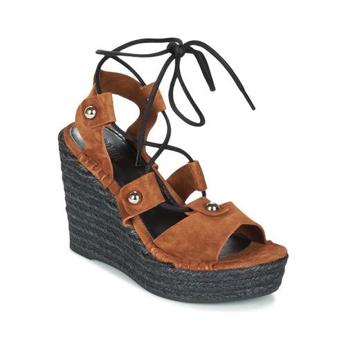Topánky Ženy Sandále Sonia Rykiel 622908 Tabaková hnedá