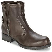 Topánky Ženy Polokozačky One Step IAGO Čokoládová