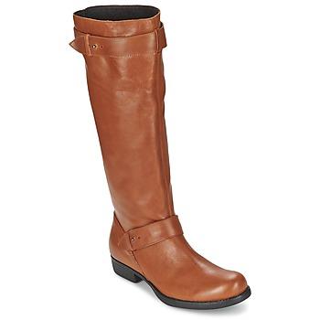 Topánky Ženy Čižmy do mesta One Step IANNI Karamelová