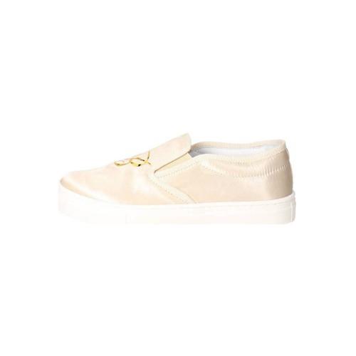 Topánky Dievčatá Slip-on Blumarine D3552 Beige