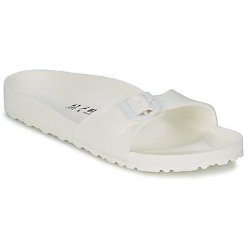 Topánky Ženy Šľapky Birkenstock MADRID EVA Biela