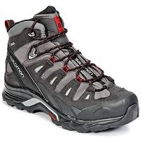 Topánky Muži Turistická obuv Salomon QUEST PRIME GTX® šedá / čierna / červená