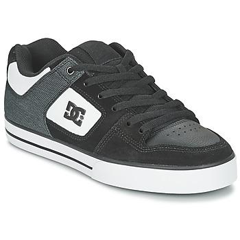 Topánky Muži Skate obuv DC Shoes PURE SE M SHOE BKW Čierna / Biela