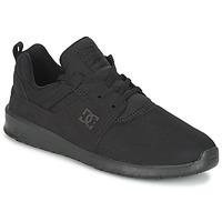 Topánky Muži Nízke tenisky DC Shoes HEATHROW M SHOE 3BK Čierna