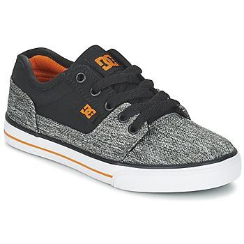 Topánky Chlapci Nízke tenisky DC Shoes TONIK TX SE B SHOE BGY čierna / šedá / Oranžová