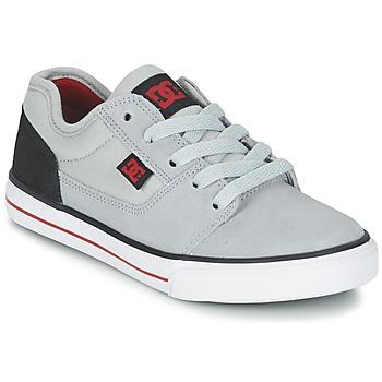 Topánky Chlapci Nízke tenisky DC Shoes TONIK B SHOE XSKR šedá / čierna / červená
