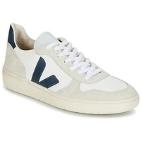 Topánky Nízke tenisky Veja V-10 Biela / Modrá