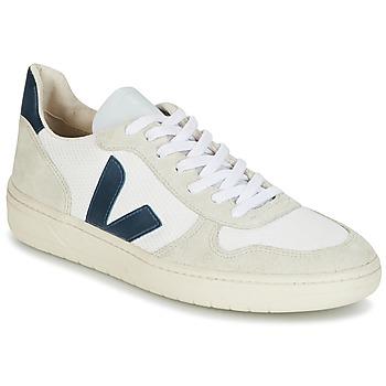 Topánky Muži Nízke tenisky Veja V-10 Biela / Modrá