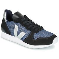 Topánky Ženy Nízke tenisky Veja HOLIDAY LOW TOP čierna / Modrá / Strieborná