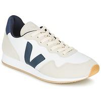 Topánky Nízke tenisky Veja SDU Biela / Modrá / Béžová