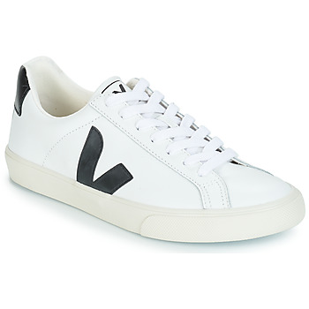 Topánky Nízke tenisky Veja ESPLAR LOW LOGO Biela / Čierna