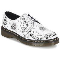 Topánky Derbie Dr Martens 1461 Biela / Čierna