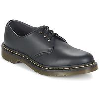 Topánky Polokozačky Dr Martens VEGAN 1461 čierna