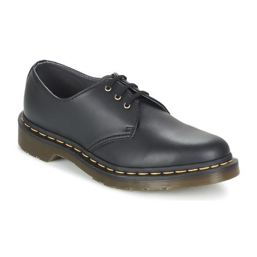 Topánky Derbie Dr Martens VEGAN 1461 Čierna