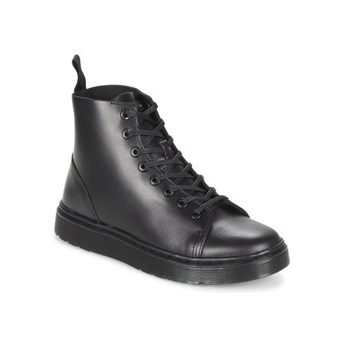 Topánky Polokozačky Dr Martens TALIB Čierna