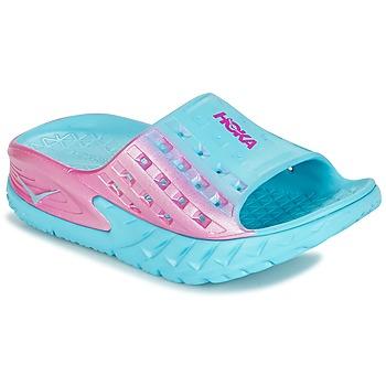 Topánky Ženy Obuv pre vodné športy Hoka one one W BONDI SLIDE Modrá / Ružová
