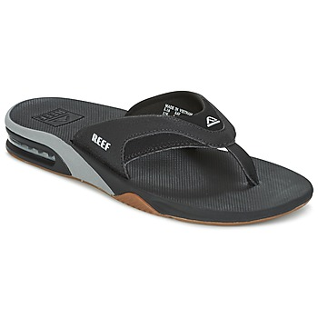 Topánky Muži Žabky Reef FANNING čierna / šedá