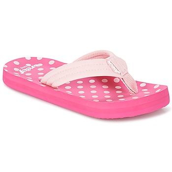 Topánky Dievčatá Žabky Reef LITTLE AHI Ružová