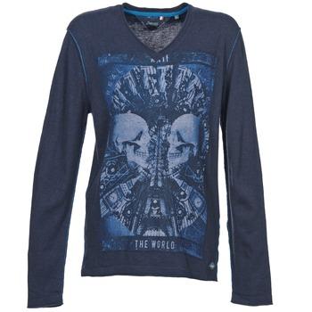Oblečenie Muži Svetre Le Temps des Cerises BREG Modrá