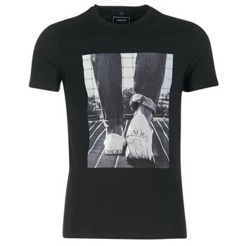 Oblečenie Muži Tričká s krátkym rukávom Armani jeans JANADORI čierna