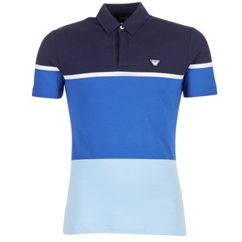 Oblečenie Muži Polokošele s krátkym rukávom Armani jeans MARAFOTA Modrá