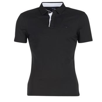 Oblečenie Muži Polokošele s krátkym rukávom Armani jeans MEDIFOLA čierna