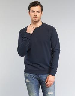 Oblečenie Muži Mikiny Armani jeans NOURIBIA Námornícka modrá