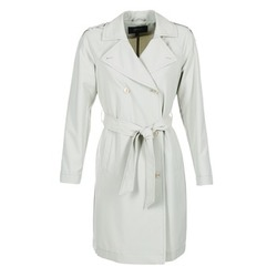 Oblečenie Ženy Kabátiky Trenchcoat Armani jeans HAVANOMA Biela