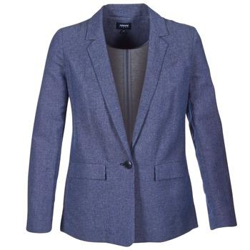 Oblečenie Ženy Saká a blejzre Armani jeans FADIOTTA Modrá