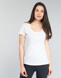 Oblečenie Ženy Tričká s krátkym rukávom Armani jeans LASSERO Biela
