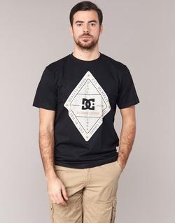 Oblečenie Muži Tričká s krátkym rukávom DC Shoes LONG DAY SS čierna